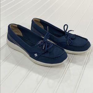 SPERRY Top-asides Navy Memory Foam Sneakers